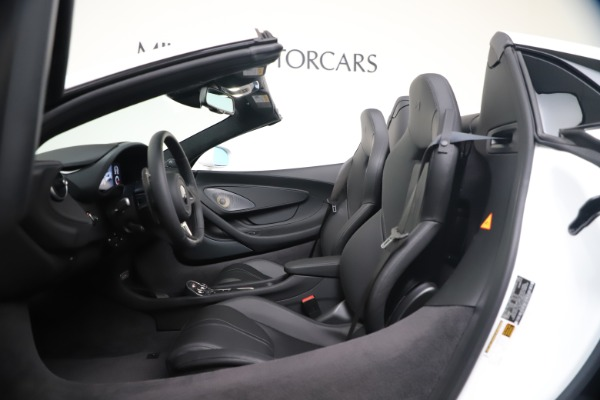 New 2020 McLaren 570S Spider Convertible for sale $231,150 at Maserati of Greenwich in Greenwich CT 06830 23