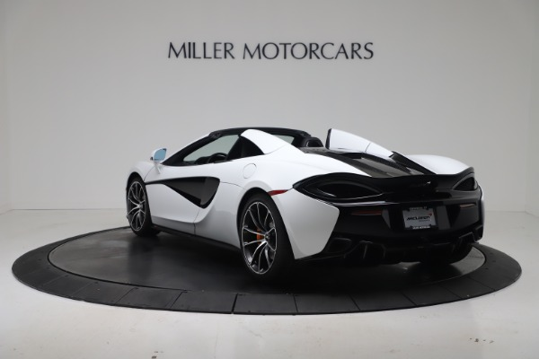 New 2020 McLaren 570S Spider Convertible for sale $231,150 at Maserati of Greenwich in Greenwich CT 06830 4