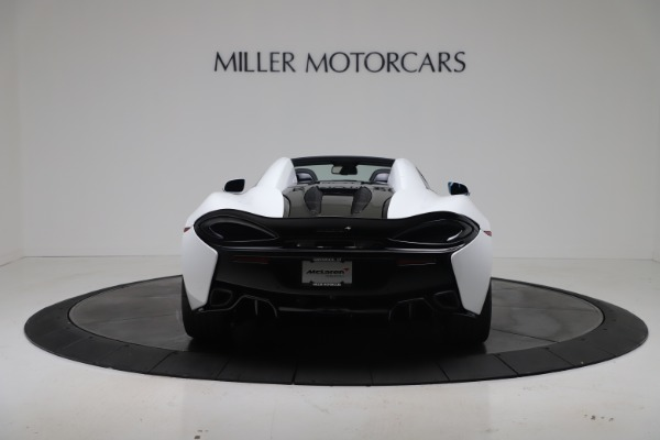 New 2020 McLaren 570S Spider Convertible for sale $231,150 at Maserati of Greenwich in Greenwich CT 06830 5