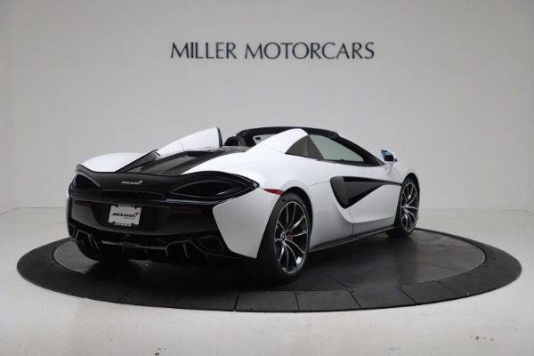 New 2020 McLaren 570S Spider Convertible for sale $231,150 at Maserati of Greenwich in Greenwich CT 06830 6
