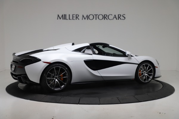 New 2020 McLaren 570S Spider Convertible for sale $231,150 at Maserati of Greenwich in Greenwich CT 06830 7