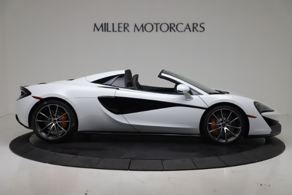 New 2020 McLaren 570S Spider Convertible for sale $231,150 at Maserati of Greenwich in Greenwich CT 06830 8
