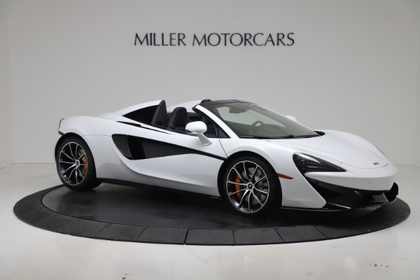 New 2020 McLaren 570S Spider Convertible for sale $231,150 at Maserati of Greenwich in Greenwich CT 06830 9