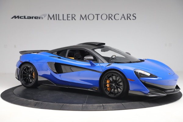 Used 2019 McLaren 600LT for sale $255,900 at Maserati of Greenwich in Greenwich CT 06830 10