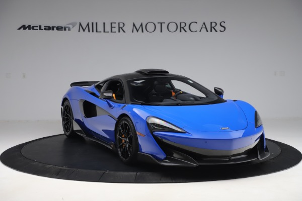 Used 2019 McLaren 600LT for sale $255,900 at Maserati of Greenwich in Greenwich CT 06830 11