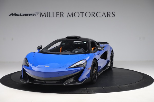Used 2019 McLaren 600LT for sale $255,900 at Maserati of Greenwich in Greenwich CT 06830 2
