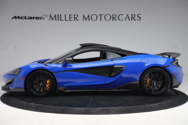 Used 2019 McLaren 600LT for sale $255,900 at Maserati of Greenwich in Greenwich CT 06830 3