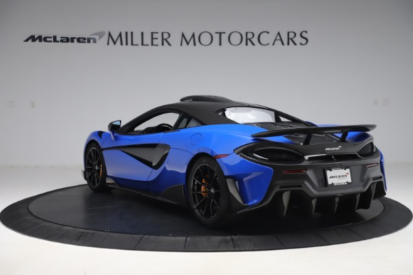 Used 2019 McLaren 600LT for sale $255,900 at Maserati of Greenwich in Greenwich CT 06830 5