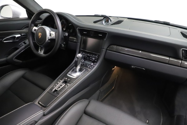 Used 2015 Porsche 911 Turbo S for sale $121,900 at Maserati of Greenwich in Greenwich CT 06830 16