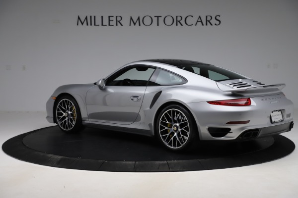 Used 2015 Porsche 911 Turbo S for sale $121,900 at Maserati of Greenwich in Greenwich CT 06830 4