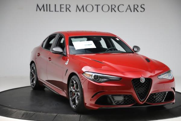 New 2020 Alfa Romeo Giulia Quadrifoglio for sale $83,590 at Maserati of Greenwich in Greenwich CT 06830 11