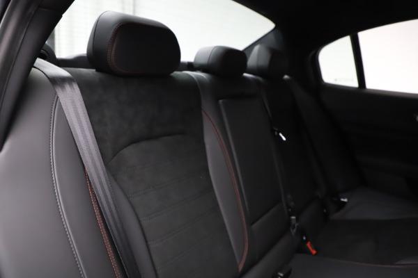 New 2020 Alfa Romeo Giulia Quadrifoglio for sale $83,590 at Maserati of Greenwich in Greenwich CT 06830 26
