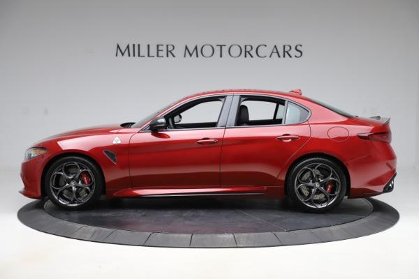 New 2020 Alfa Romeo Giulia Quadrifoglio for sale $83,590 at Maserati of Greenwich in Greenwich CT 06830 3