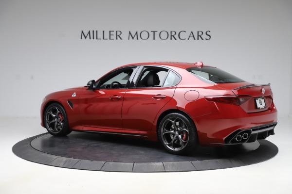 New 2020 Alfa Romeo Giulia Quadrifoglio for sale $83,590 at Maserati of Greenwich in Greenwich CT 06830 4