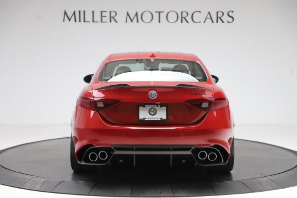 New 2020 Alfa Romeo Giulia Quadrifoglio for sale $83,590 at Maserati of Greenwich in Greenwich CT 06830 6