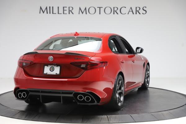 New 2020 Alfa Romeo Giulia Quadrifoglio for sale $83,590 at Maserati of Greenwich in Greenwich CT 06830 7