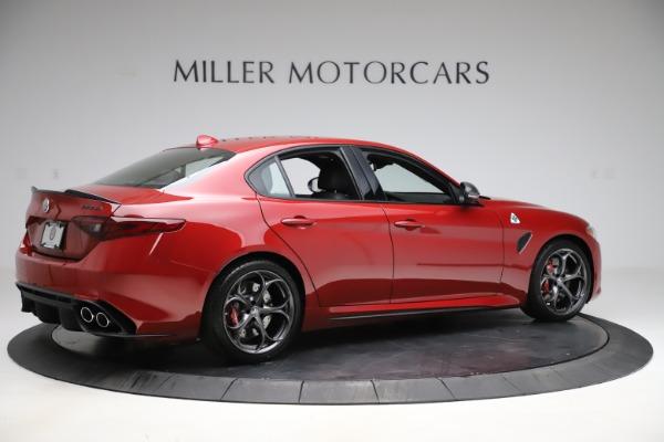 New 2020 Alfa Romeo Giulia Quadrifoglio for sale $83,590 at Maserati of Greenwich in Greenwich CT 06830 8