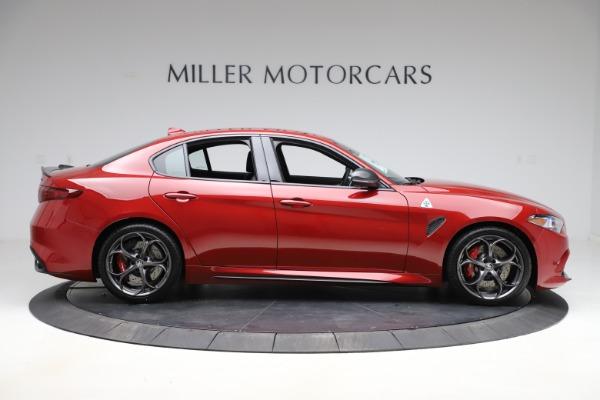 New 2020 Alfa Romeo Giulia Quadrifoglio for sale $83,590 at Maserati of Greenwich in Greenwich CT 06830 9