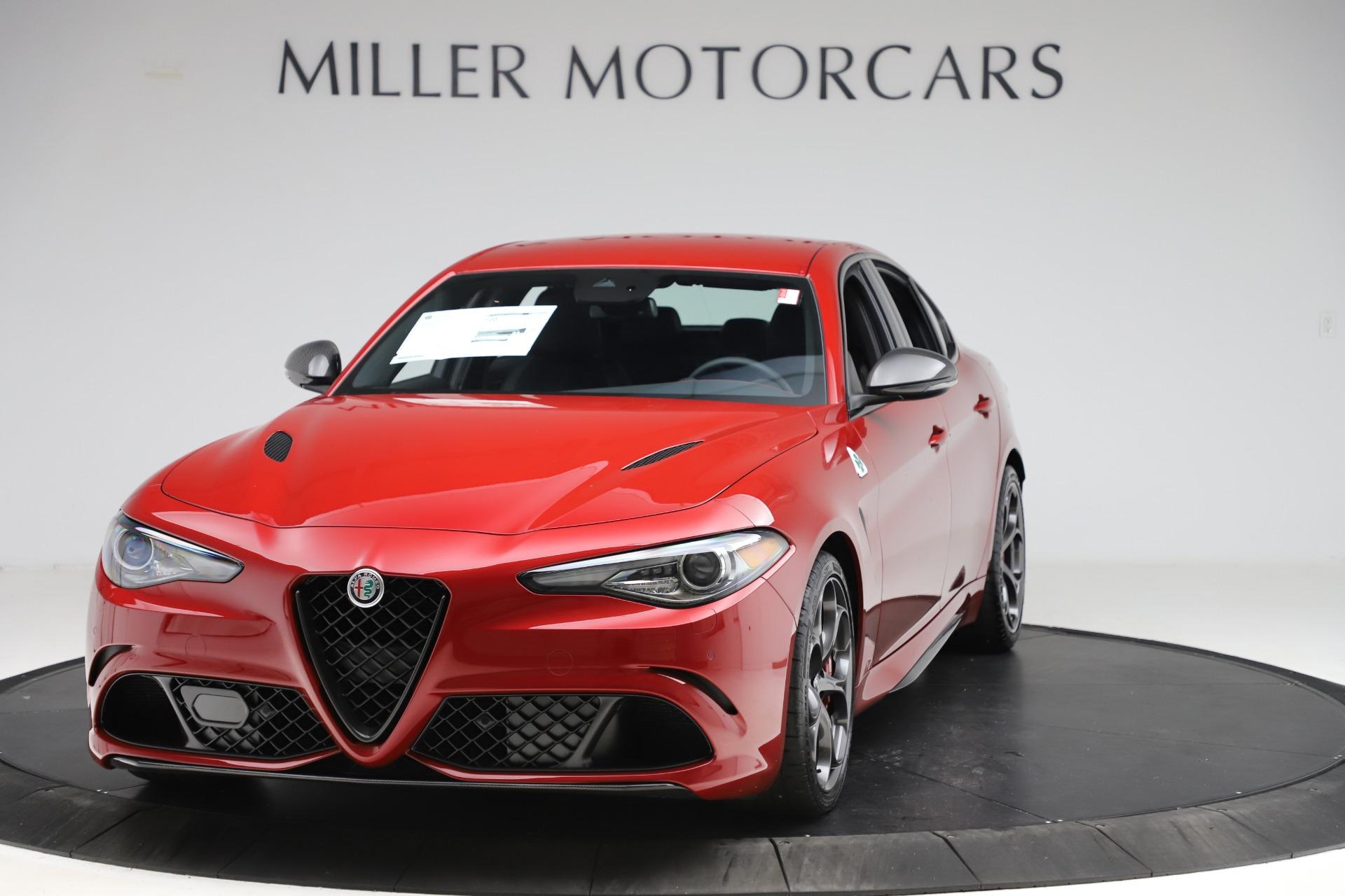 New 2020 Alfa Romeo Giulia Quadrifoglio for sale $83,590 at Maserati of Greenwich in Greenwich CT 06830 1