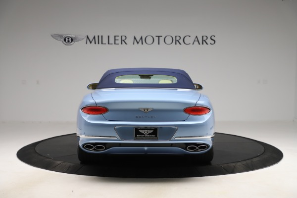 New 2020 Bentley Continental GTC V8 for sale $261,455 at Maserati of Greenwich in Greenwich CT 06830 14