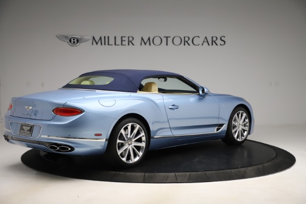 New 2020 Bentley Continental GTC V8 for sale $261,455 at Maserati of Greenwich in Greenwich CT 06830 16
