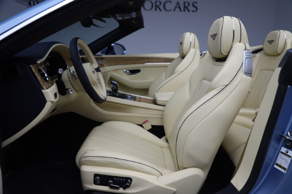 New 2020 Bentley Continental GTC V8 for sale $261,455 at Maserati of Greenwich in Greenwich CT 06830 26