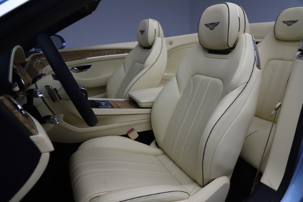 New 2020 Bentley Continental GTC V8 for sale $261,455 at Maserati of Greenwich in Greenwich CT 06830 27