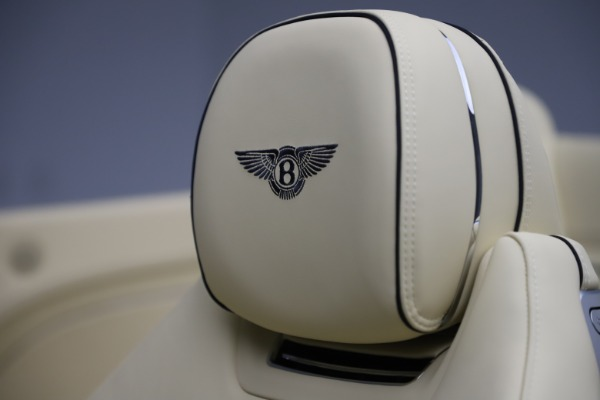 New 2020 Bentley Continental GTC V8 for sale $261,455 at Maserati of Greenwich in Greenwich CT 06830 28