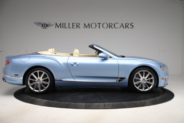 New 2020 Bentley Continental GTC V8 for sale $261,455 at Maserati of Greenwich in Greenwich CT 06830 6