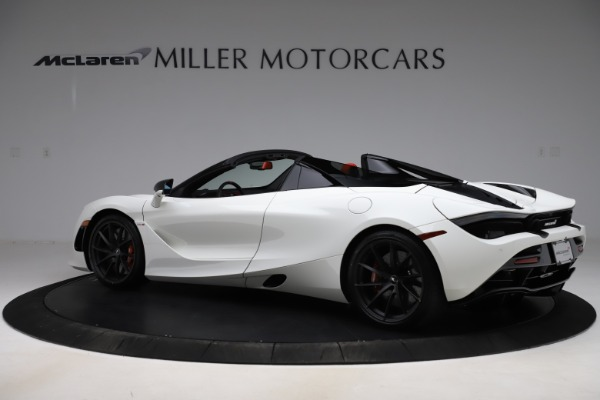 New 2020 McLaren 720S Spider Performance for sale $386,289 at Maserati of Greenwich in Greenwich CT 06830 3