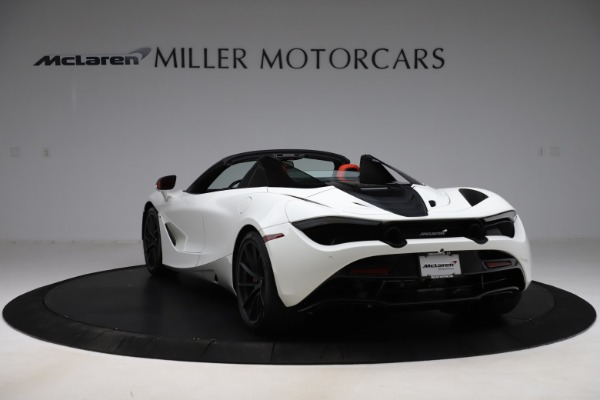 New 2020 McLaren 720S Spider Performance for sale $386,289 at Maserati of Greenwich in Greenwich CT 06830 4