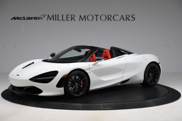 New 2020 McLaren 720S Spider Performance for sale $386,289 at Maserati of Greenwich in Greenwich CT 06830 1