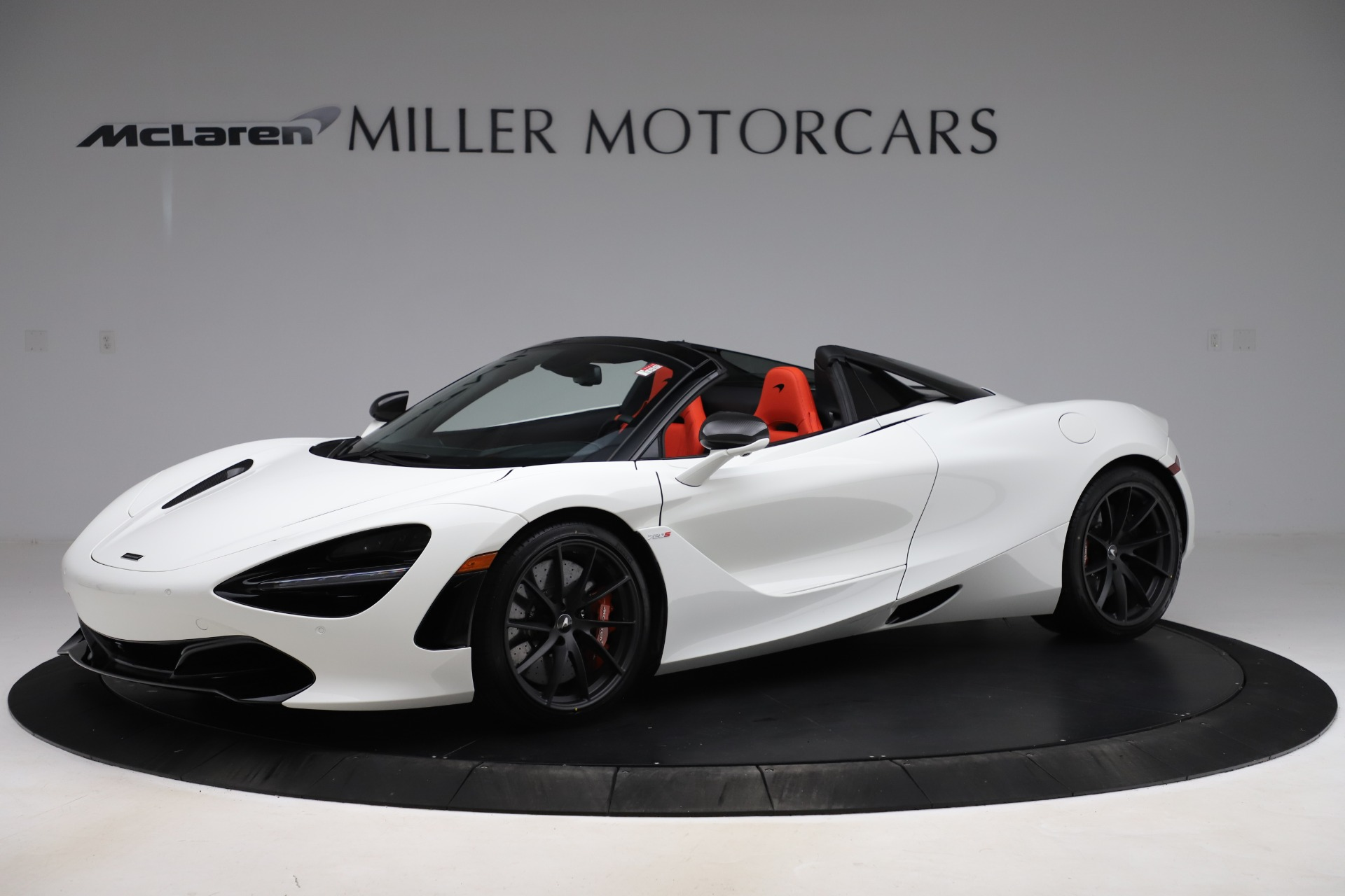 New 2020 McLaren 720S Spider Performance for sale Sold at Maserati of Greenwich in Greenwich CT 06830 1