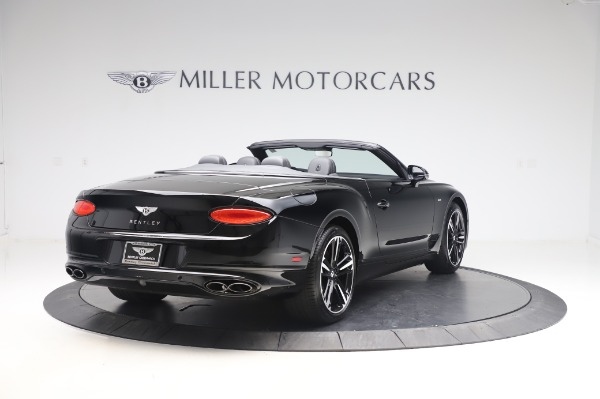 New 2020 Bentley Continental GTC V8 for sale $255,605 at Maserati of Greenwich in Greenwich CT 06830 7