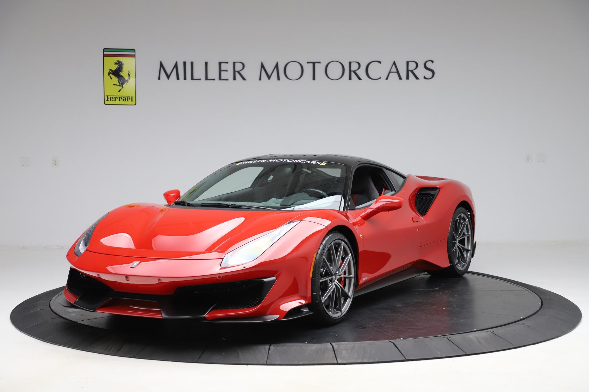 Used 2019 Ferrari 488 Pista for sale $451,702 at Maserati of Greenwich in Greenwich CT 06830 1