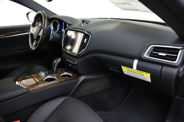 New 2020 Maserati Ghibli S Q4 GranLusso for sale $94,335 at Maserati of Greenwich in Greenwich CT 06830 22