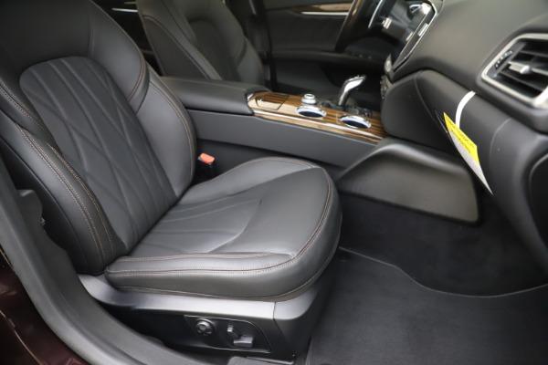 New 2020 Maserati Ghibli S Q4 GranLusso for sale $94,335 at Maserati of Greenwich in Greenwich CT 06830 24