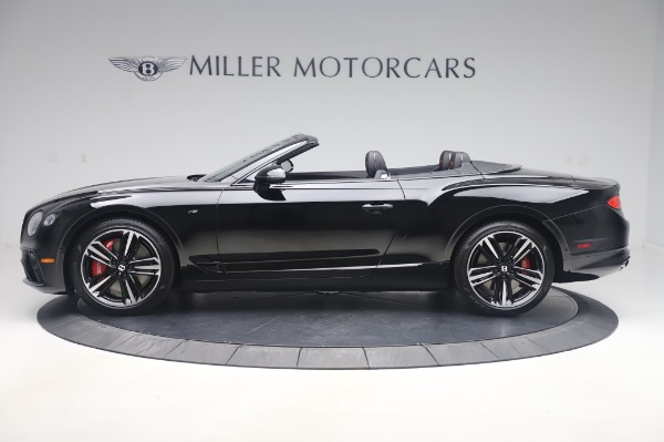 New 2020 Bentley Continental GTC V8 for sale $275,045 at Maserati of Greenwich in Greenwich CT 06830 3