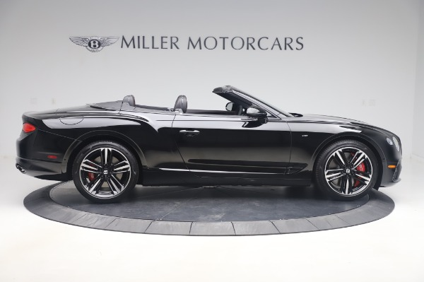 New 2020 Bentley Continental GTC V8 for sale $275,045 at Maserati of Greenwich in Greenwich CT 06830 9