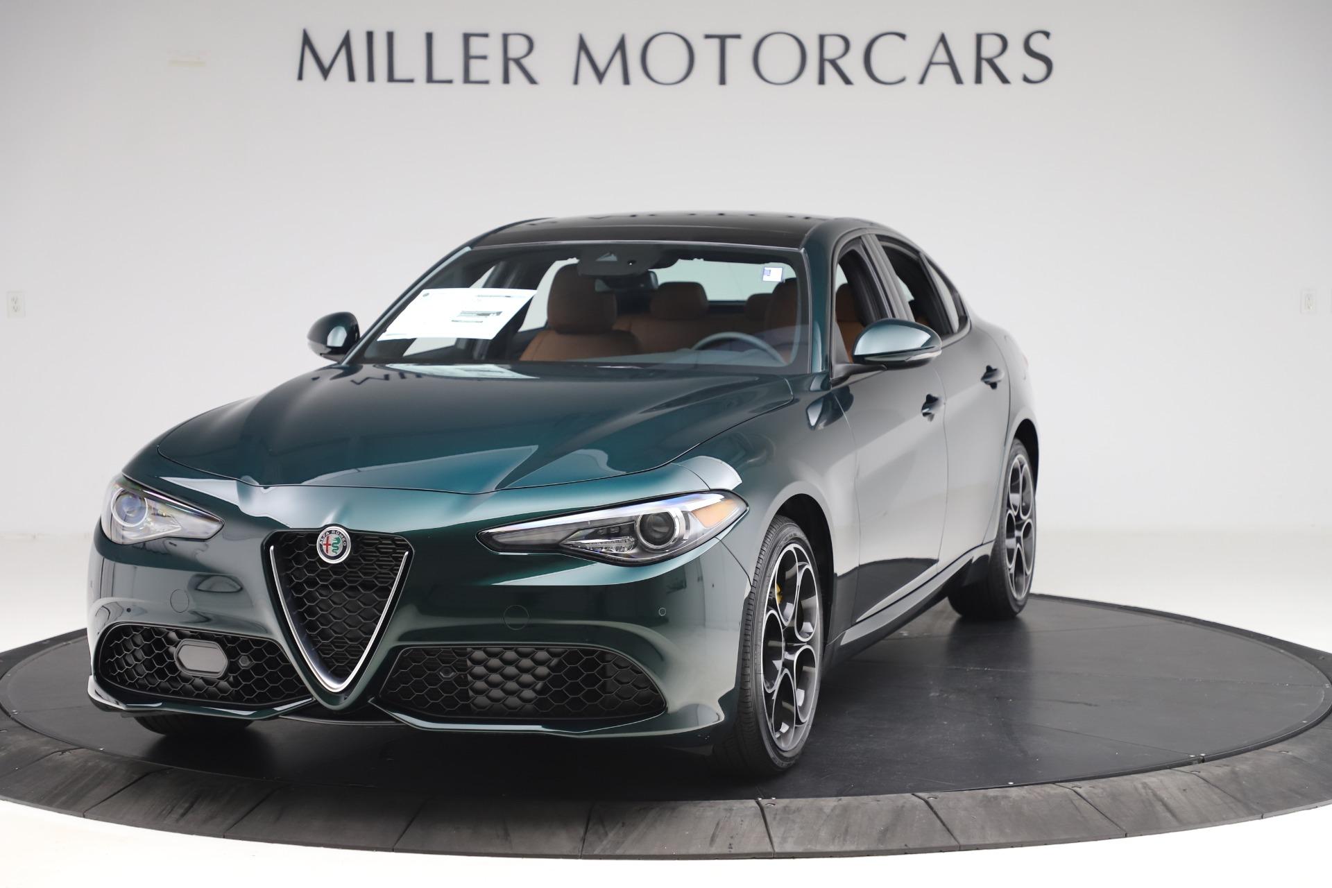New 2020 Alfa Romeo Giulia Ti Sport for sale $54,995 at Maserati of Greenwich in Greenwich CT 06830 1