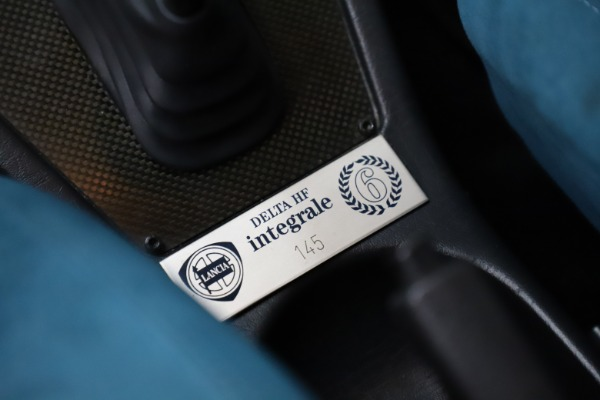 Used 1992 Lancia HF Integrale Evo 1 Martini 6 for sale $199,900 at Maserati of Greenwich in Greenwich CT 06830 21