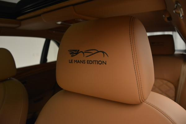 Used 2013 Bentley Mulsanne Le Mans Edition- Number 1 of 48 for sale Sold at Maserati of Greenwich in Greenwich CT 06830 21