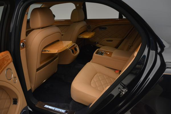 Used 2013 Bentley Mulsanne Le Mans Edition- Number 1 of 48 for sale Sold at Maserati of Greenwich in Greenwich CT 06830 25