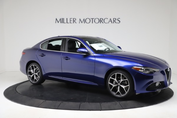 New 2020 Alfa Romeo Giulia Ti Q4 for sale $49,245 at Maserati of Greenwich in Greenwich CT 06830 10
