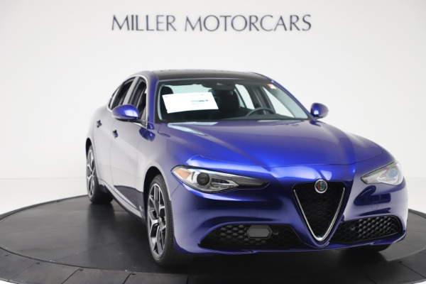 New 2020 Alfa Romeo Giulia Ti Q4 for sale $49,245 at Maserati of Greenwich in Greenwich CT 06830 11