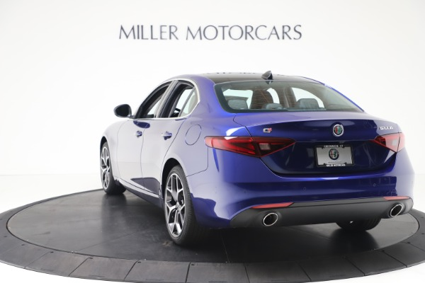 New 2020 Alfa Romeo Giulia Ti Q4 for sale $49,245 at Maserati of Greenwich in Greenwich CT 06830 5