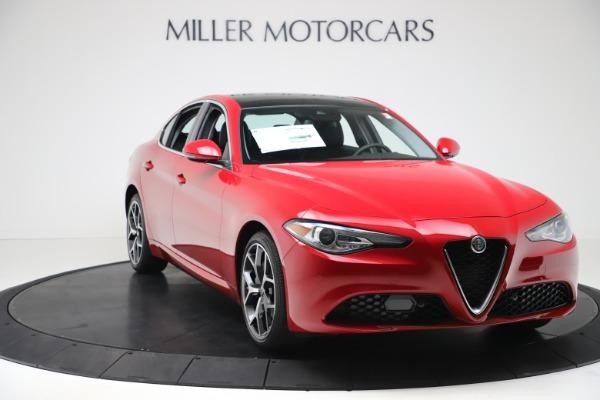New 2020 Alfa Romeo Giulia Ti Q4 for sale $47,745 at Maserati of Greenwich in Greenwich CT 06830 10