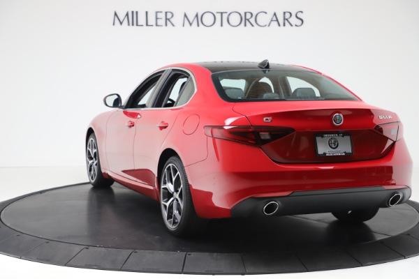 New 2020 Alfa Romeo Giulia Ti Q4 for sale $47,745 at Maserati of Greenwich in Greenwich CT 06830 5