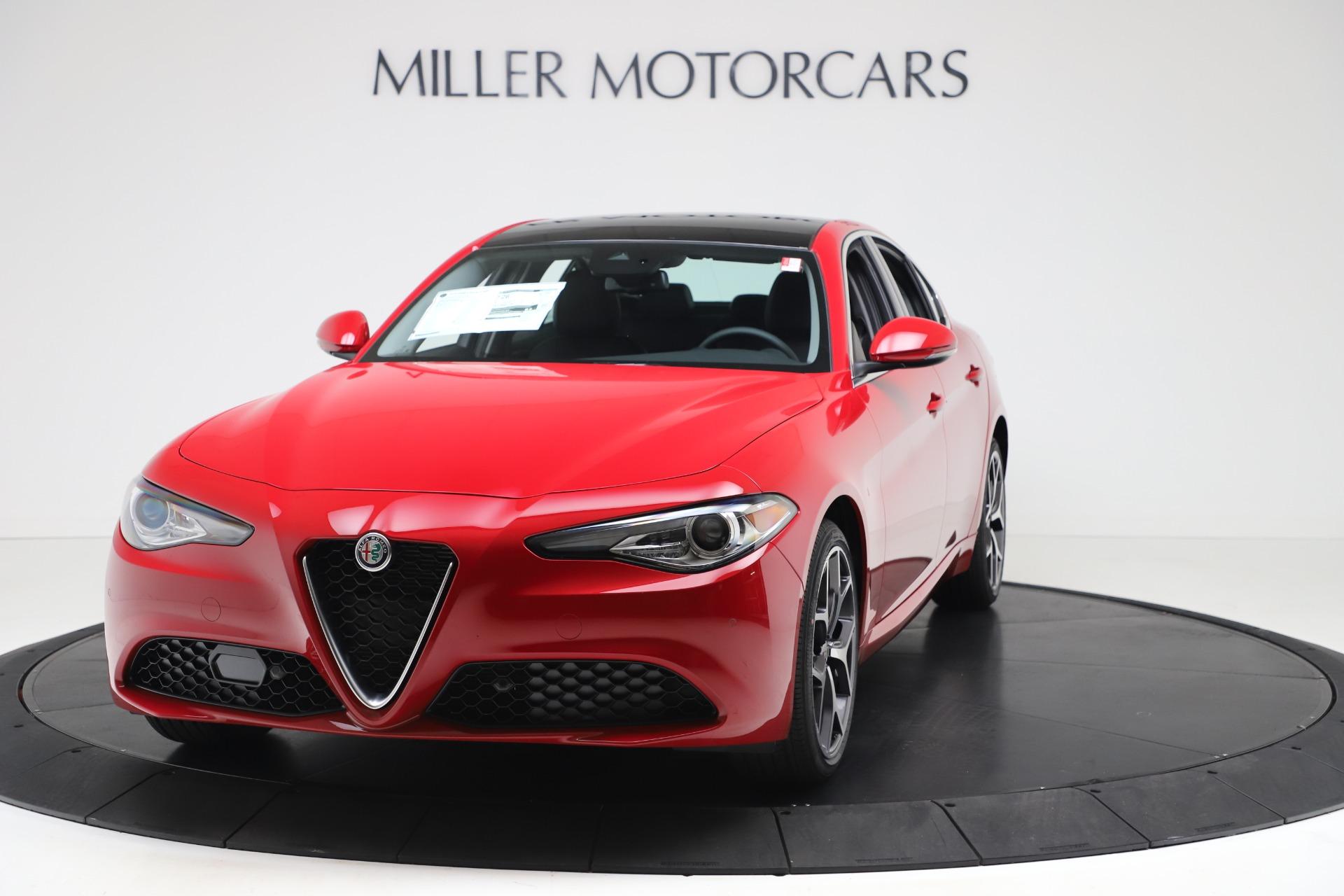 New 2020 Alfa Romeo Giulia Ti Q4 for sale $47,745 at Maserati of Greenwich in Greenwich CT 06830 1