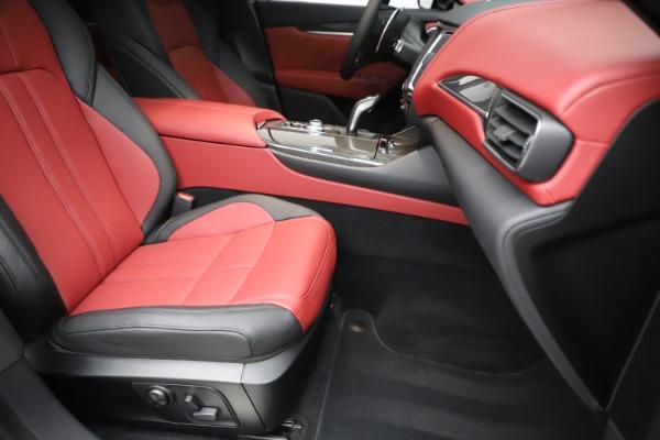 New 2020 Maserati Levante S Q4 GranSport for sale $99,985 at Maserati of Greenwich in Greenwich CT 06830 24